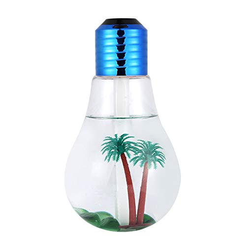 SUNHAO Humidifier Ampoule colorée Chambre silencieuse Portable USB Petit air Mini-humidifie