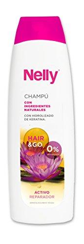 Nelly Shampooing Kératine – 12 boîtes de 600 ml – Total : 7200 ml