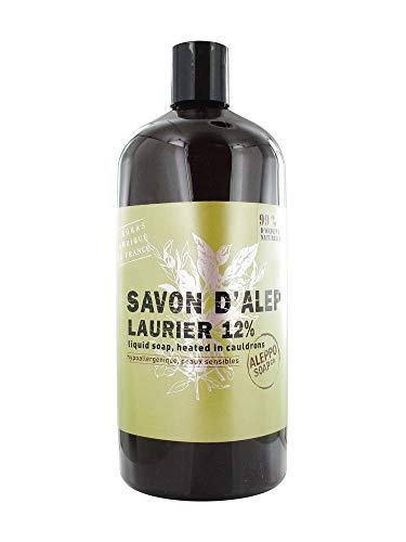 Aleppo Soap Co Zeep 12% Laurier Navul, 1000 Ml