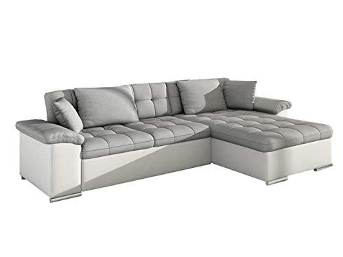 Mirjan24 Ecksofa Diana, Eckcouch mit Bettkasten und Schlaffunktion, Elegante Couch, Polsterecke...