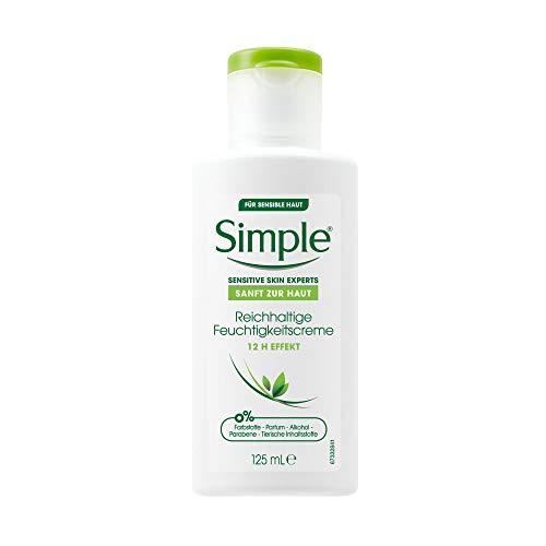 Simple Gesichtspflege Reichhaltige Feuchtigkeitscreme, 125 ml