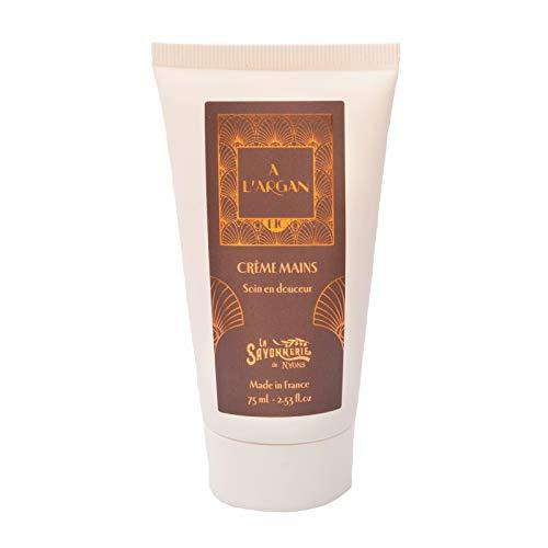 La Savonnerie de Nyons Bio Crème Mains à l'huile d'argan 75 ML, Multi/Couleur, Taille Unique