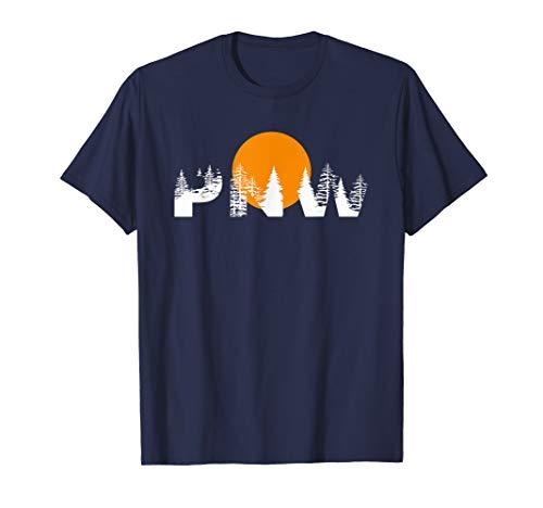 PNW West Coast Sunset T-Shirt