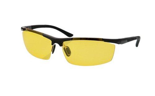 Telam Nachtsichtbrille für Fahrer, Spiegel, HD, Blendschutz, Polarisator, Nachtsichtbrille