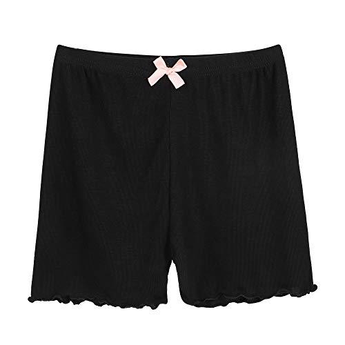 Meisjes Onder Shorts Katoen Dans Shorts Veiligheid Broek Zacht Ademend Onder Jurken Shorts Stretchy Bike Broek Comfy Onderrok Shorts Ondergoed voor Meisjes 3-8 Jaar