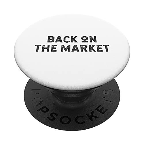 Back on the Market Just Divorced Homme Femme PopSockets PopGrip Interchangeable