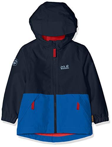 Jack Wolfskin Kinder Snowy Days Jacket Kids Wetterschutzjacke, Night Blue, 128