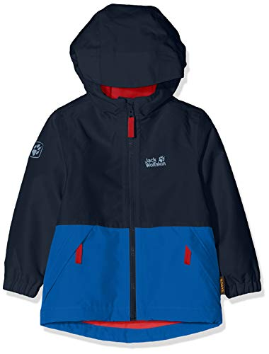 Jack Wolfskin Kinder Snowy Days Jacket Kids Wetterschutzjacke, Night Blue, 140