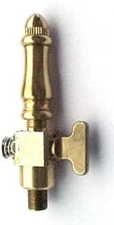 Brass Spindle (SP108) Open Flame Burner & Valve for Gas Light - Propane