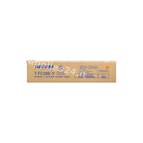 Toshiba t-fc28e-y 24000páginas gelb–Tonerpatrone für Laserdrucker (Laser Cartridge, 24000Seiten, gelb, 1Stück (S))