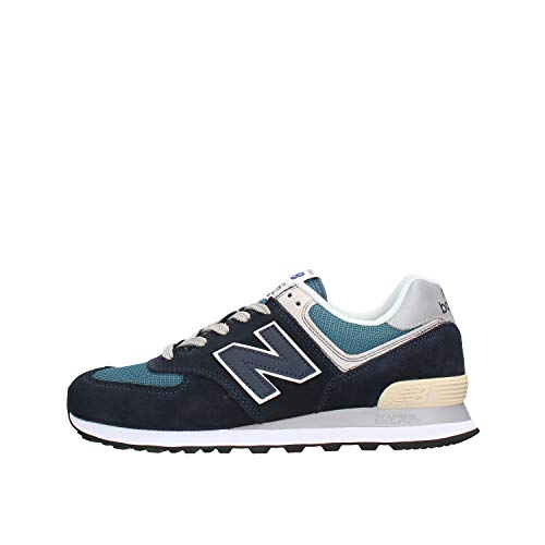 New Balance 574v2, Herren Niedrig, Blau (Dark Navy/Marred Blue Ess), 44.5 EU (10 UK)
