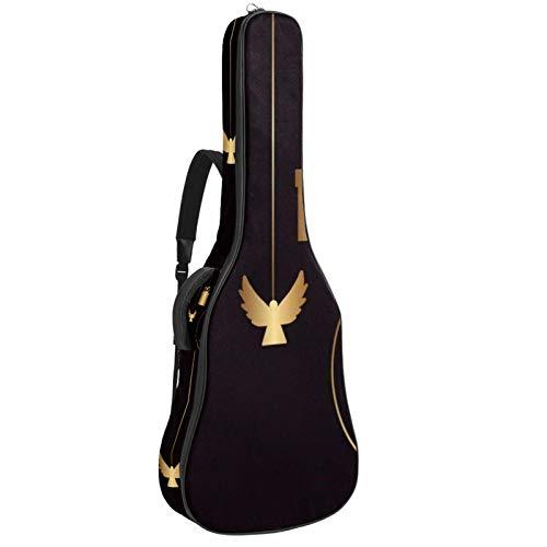 Bennigiry Bolsa de guitarra para colgar decoraciones navideñas para guitarrista