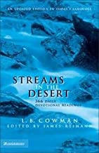 Streams In The Desert - 366 Daily Devotional Readings - An Updated Edition In Today's Language