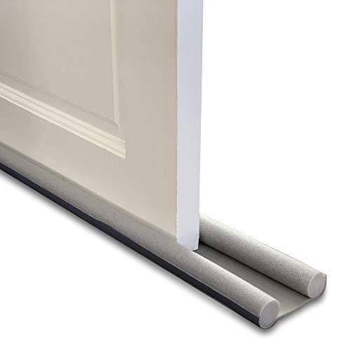 Draft Excluder Door Draught Excluder with Double Seal - Under Door Seal for Noise Reduction, Stop Cold Air and Insects | 36 Inch