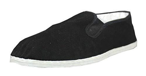 Tai Chi | Kung Fu Schuhe | Slipper mit Stoffsohle Gr. 45