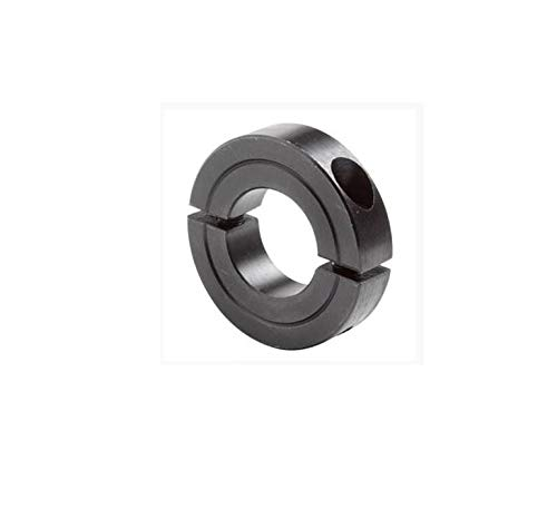 Climax Metal H2C-125 Shaft Collar, Steel With Black Oxide Finish , Two Piece, 1-1/4