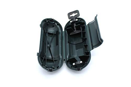 Caja IP44 para protección de empalme de enchufes (Negro)