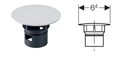 GEBERIT Ventilabdeckung für Clou Ablauf mattverchromt 241.993.46.1