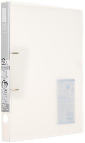 コクヨ ファイル リングファイル スリムスタイルPPシート表紙 A4 220枚 透明 フ-URFC430T