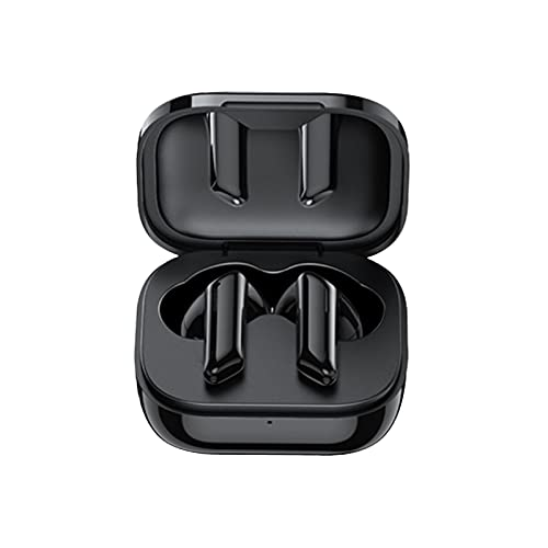 Wireless Earbuds with Charing Case, Bluetooth Headphones Wireless Earphones Surround Sound Bluetooth 5.0 Headset with Mic, Noise Cancelling in Ear Headphones, 30H Playtime, IPX4 Waterproof (Black)