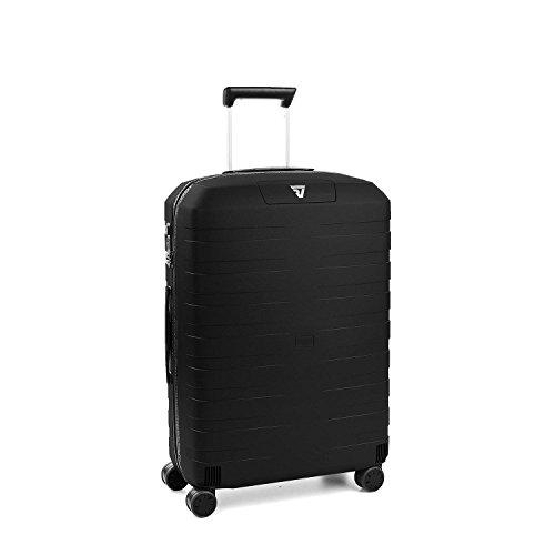 Roncato Maleta Mediana M Rigida Box 2.0 - cm. 69 x 46 x 26 Capacidad 80 L, Ligero, Organización Interna, Cierre TSA, Garantìa 10 años