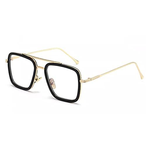 ELEGANTE Men's Rectangular Sunglasses