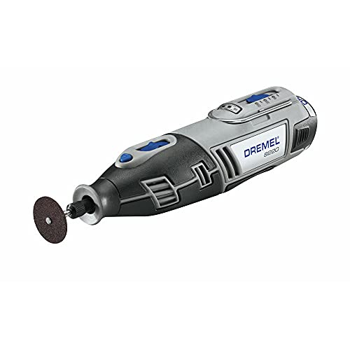 Dremel 8220-DR-RT 12V Max Cordless Lithium-Ion Rotary Tool Kit with 1.5 Ah Battery Pack (Renewed)
