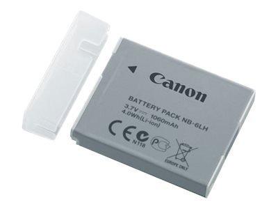 Canon NB 6LH - Kamerabatterie Li-Ion 1060 mAh - für IXY 32 PowerShot D30, S120, S200, SX170, SX260, SX280, SX500, SX510, SX520, SX600, SX700 CANON Akku NB-6LH Li-Ion fürIXUS 85IS/95IS, PS S90,PS S95 I