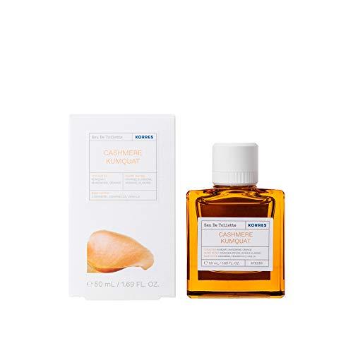 Korres CASHMERE KUMQUAT femme / woman, Eau de Toilette, 1er Pack (1 x 50 ml)