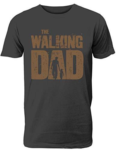 The Walking Dad - T-Shirt und lustiges Geschenk für Coole und stolze Väter
