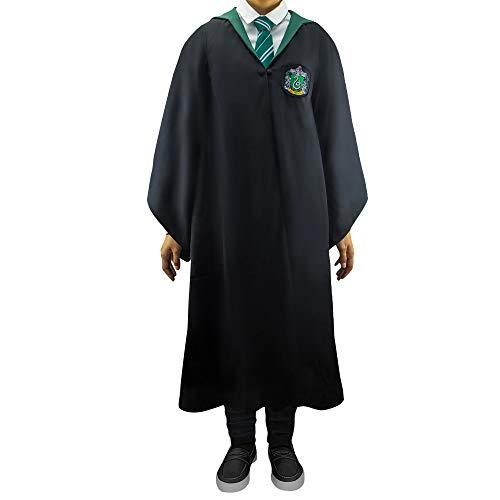 Cinereplicas - Harry Potter - Robe de Sorcier - Licence Officielle - Maison Serpentard - L - Noir et Vert