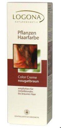Logona Pflanzen-Haarfarbe Color Creme - Nougatbraun 150 ml