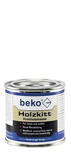 BEKO 23203 Holzkitt Knetholzmasse 110 g, buche-dunkel