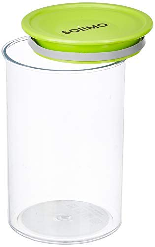 Amazon Brand - Solimo Airtight Plastic Storage Container Set (2 pieces, 900ml)