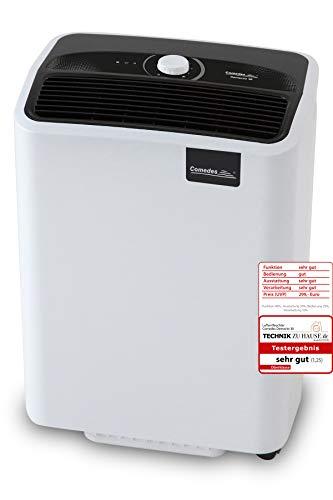 Comedes Demecto 30 – Luftentfeuchter Bautrockner (max 33 Liter / 24h) Geeignet für alle Räume und Keller bis zu 100m² / 230m³