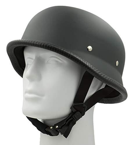Hot Rides Classic Costume Carnival Skate Scooter Helmet Novelty German OSFM Flat Black