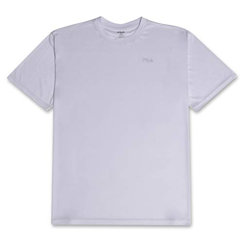 Fila Mens Big and Tall Short Sleeve Polyester Jersey Zephyr Stripe T Shirt