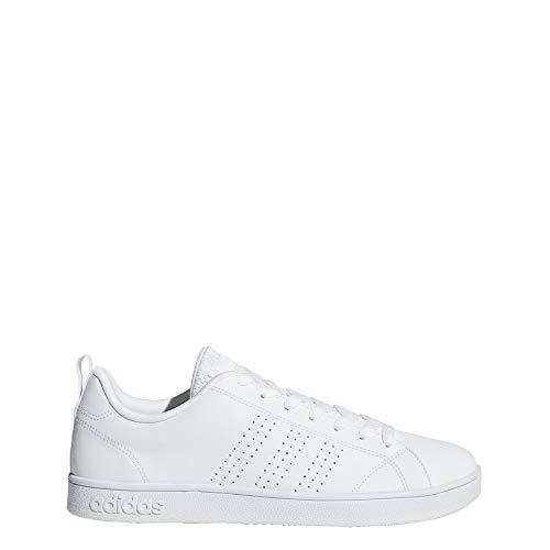adidas Men's Vs Advantage Cl Sneaker, White/White/White, 10.5 M US