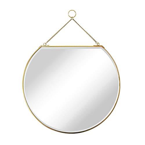 BJYX Moderne Kulisse Vest Makeup Wandbehang Badezimmer Dekorative Dresser Spiegel