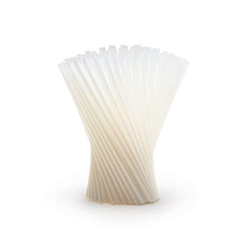 Plantvibes® PLA Strohhalme aus Bio-Kunststoff, Einweg-Trinkhalme, biologisch abbaubar