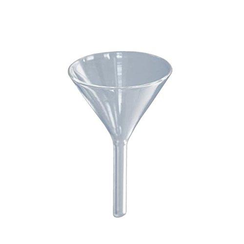 1 x Glastrichter Ø 55mm - Borosilikat 3.3-60° Winkel - Glas-Trichter - Trichter aus Glas - Labortrichter