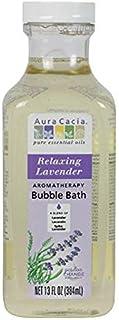 Aura Cacia Relaxing Lavender Aromatherapy Bubble Bath   13 fl. oz.