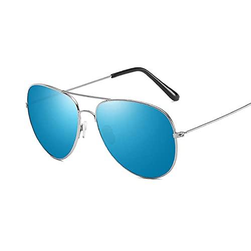 U/N Gafas de Sol pequeñas con Espejo Plateado, Gafas de Sol de piloto para Mujer y Hombre, Gafas de Sol para Hombres y Mujeres, Gafas de Moda superior-10