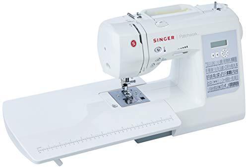 Máquina de Costura Eletrônica, Patchwork 7285, 110v, Singer