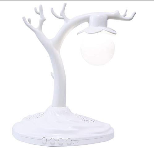 Yajun Schwebender Levitation Freischwebender Lautsprecher Wireless Bluetooth Audio 3D Mondlichter Mingyue Alter Baum Kreativer Geburtstag Valentinstag Mittherbstfest Geschenk,B