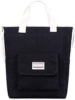 Women Canvas Handbags Tote Purse Casual Shoulder Work Bag Crossbody