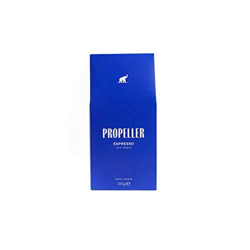 Propeller Espresso, 100% Arabica ganze Bohnen, säurearm, frisch geröstet in Berlin, direkter handel, specialty coffee, 250 g
