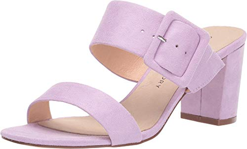Chinese Laundry Women's Slide Heeled Sandal, Lovely Lilac, 10
