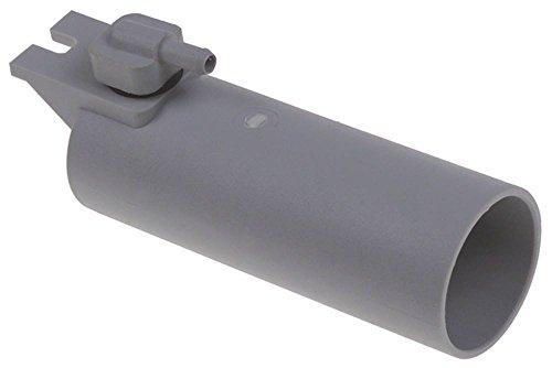 Sammic - Trampa para lavavajillas SP-290, SP-350, SP-550B, SP-550, SC-1100, diámetro de 44 mm, M8 x 1,25 mm, altura 139 mm, plástico