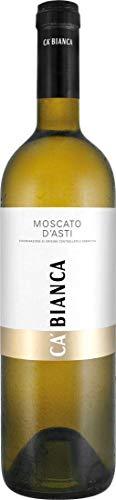 Ca' Bianca Moscato d'Asti DOCG - Italien (1x 0,75l) Weißwein süß